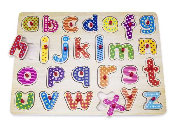 NW0300 Letters Wooden Puzzle-1